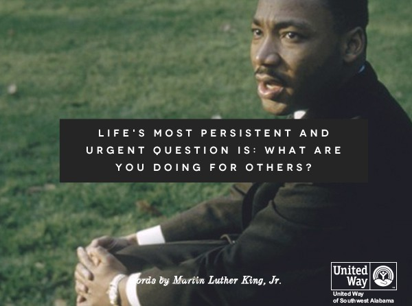 Get Involved Martin Luther King Jr Day Of Service United Way Of