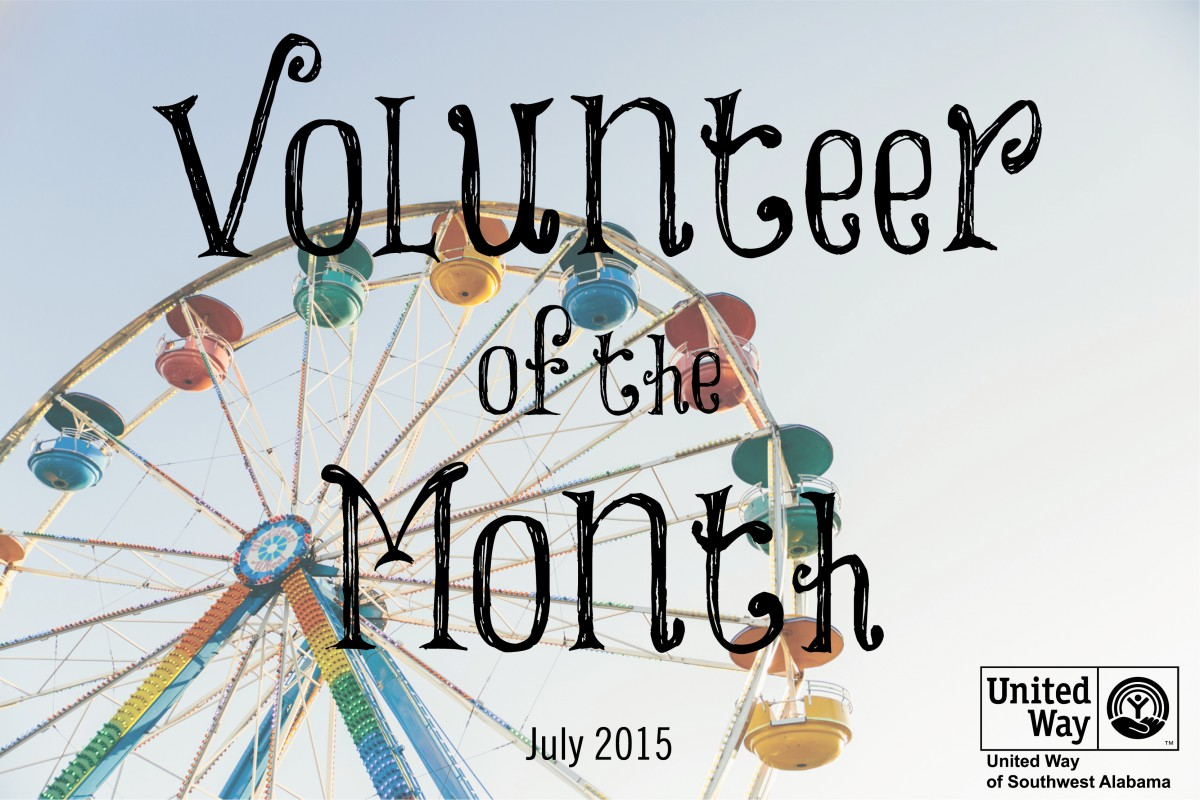 July's Volunteer of the Month