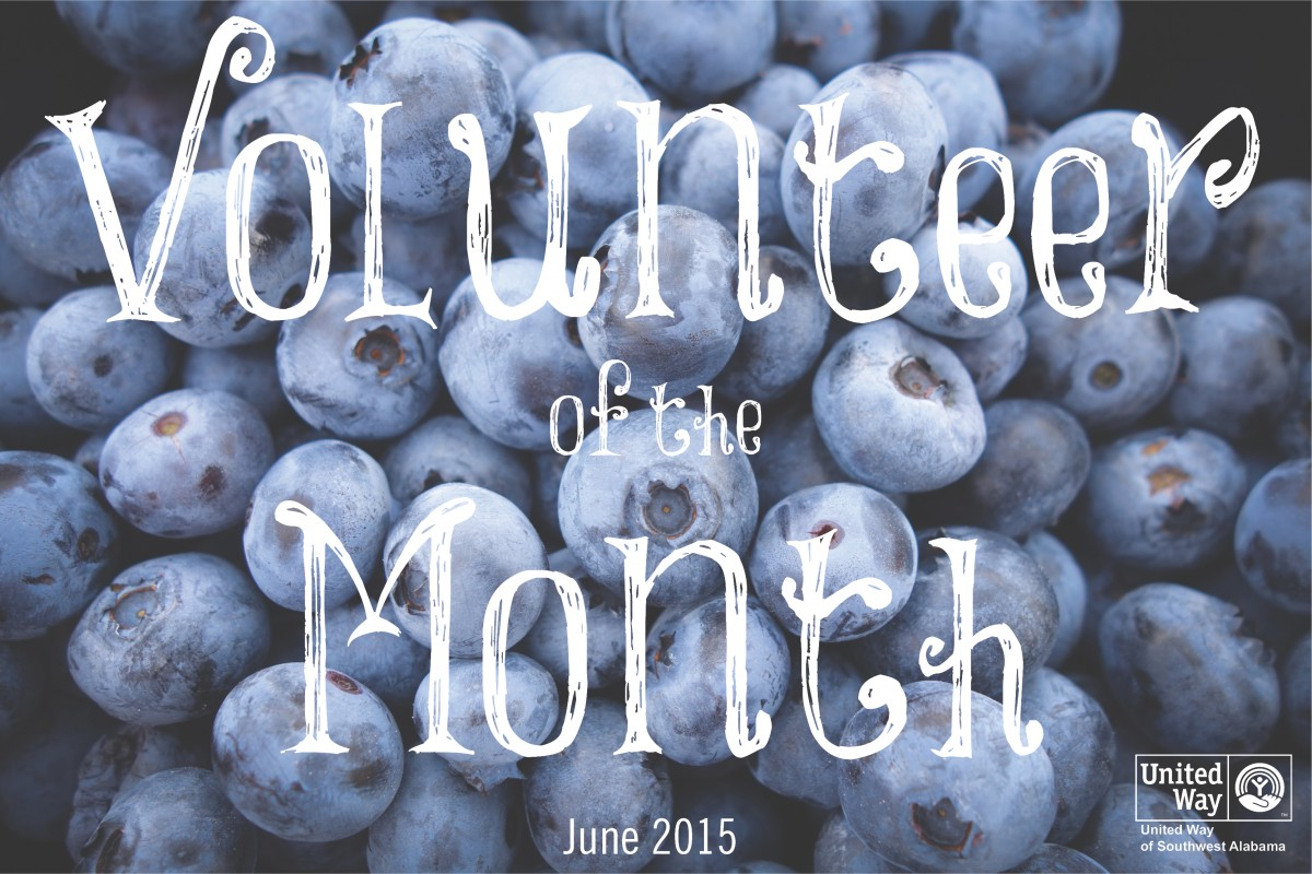 June's Volunteer of the Month