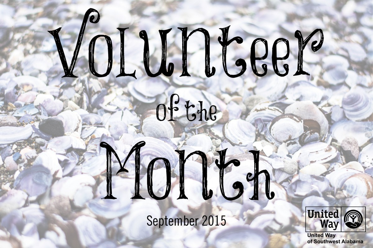 September's Volunteer of the Month