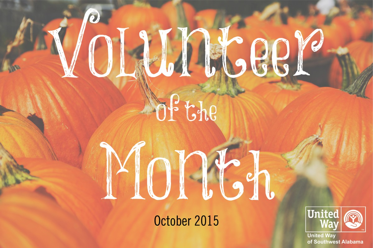 October's Volunteer of the Month