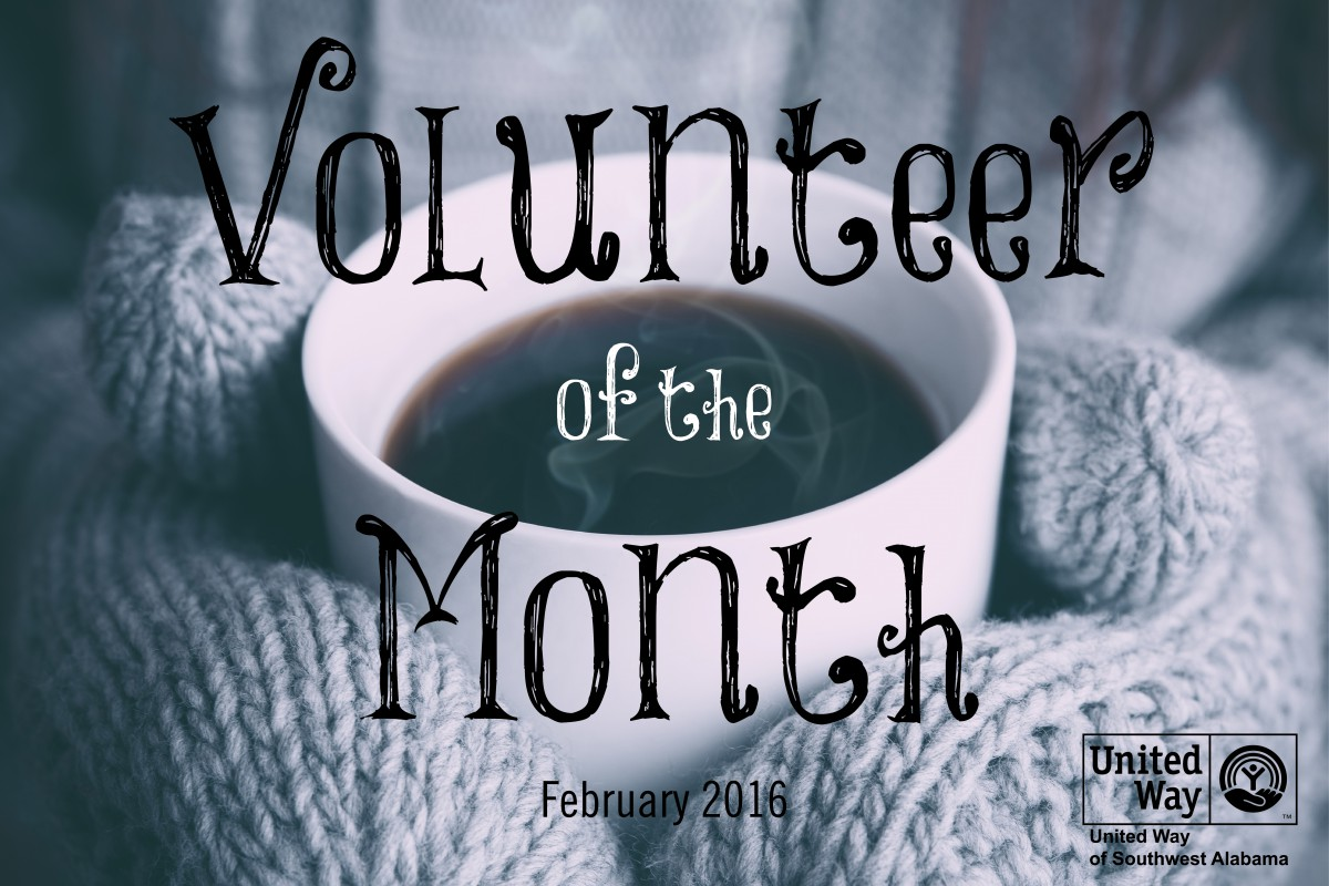 February's Volunteer of the Month