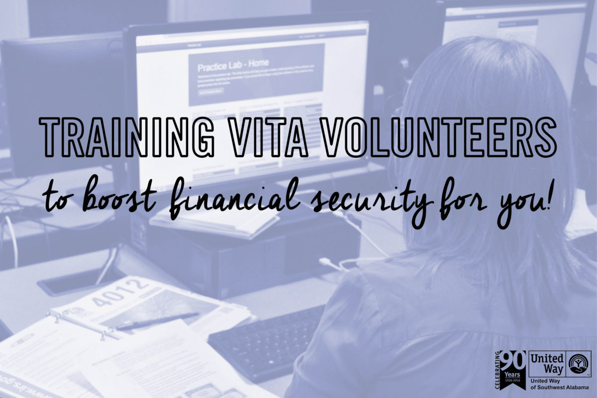 VITA Training to Boost Financial Security