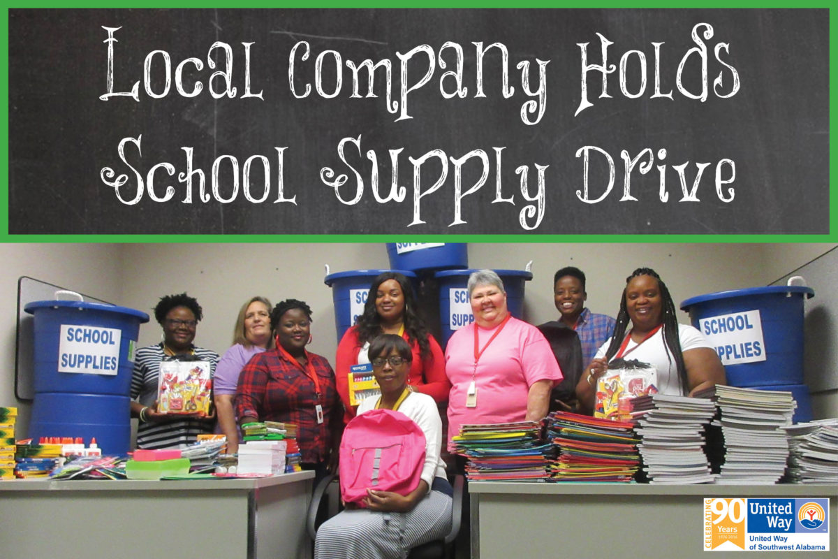 EGS Holds School Supply Drive for Fourth Year