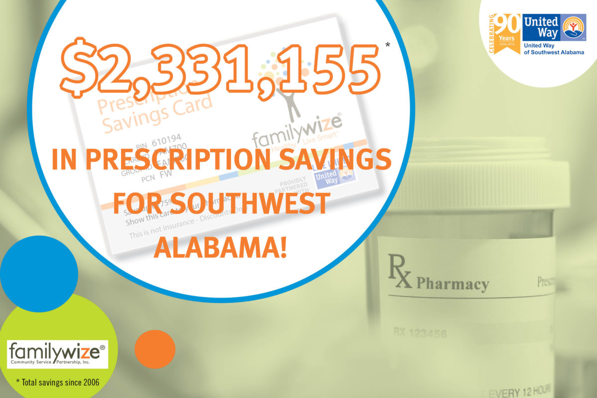 More than $2.3 Million Saved on Prescription Costs Through UWSWA & FamilyWize Partnership
