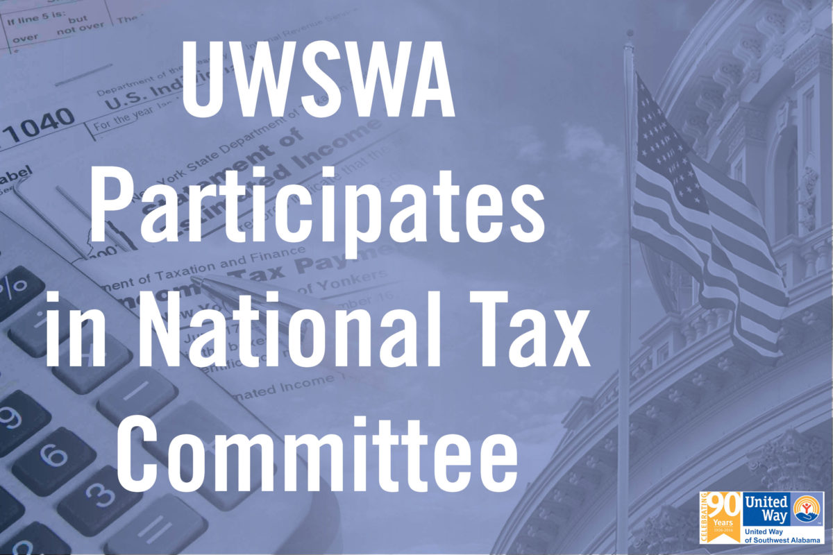 UWSWA Representative On Tax Committee in DC