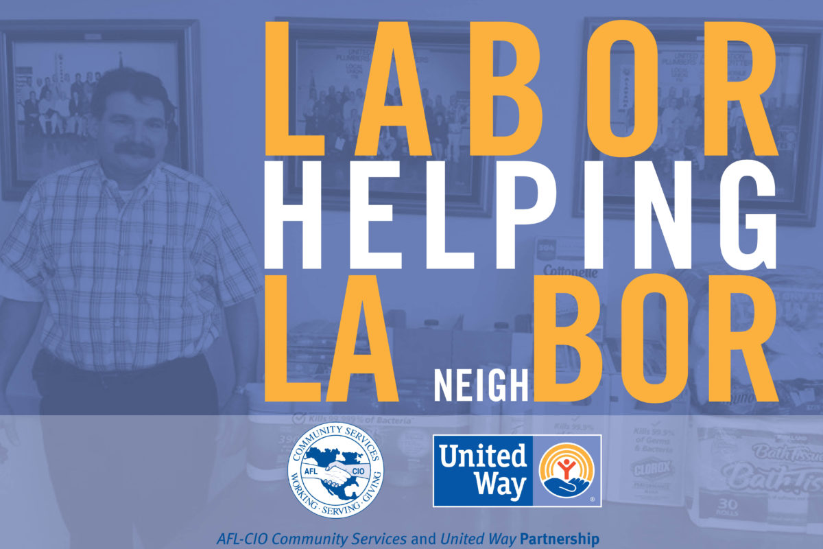 Labor Helping LA-bor