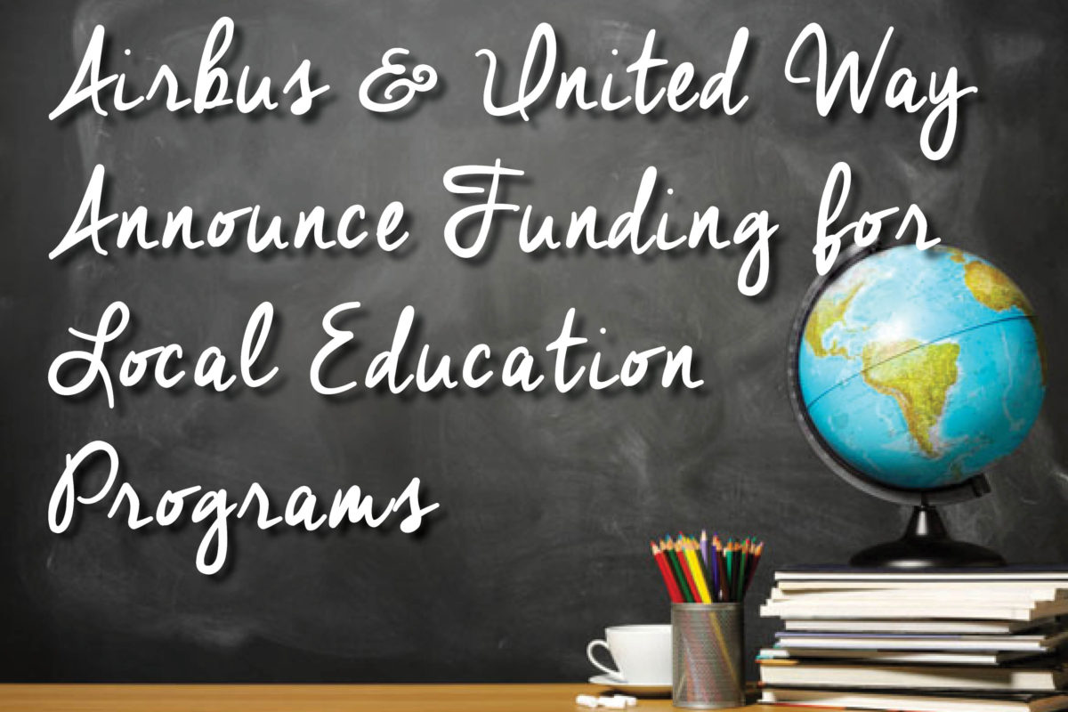 Airbus & United Way Announce Funding for Local Education Programs