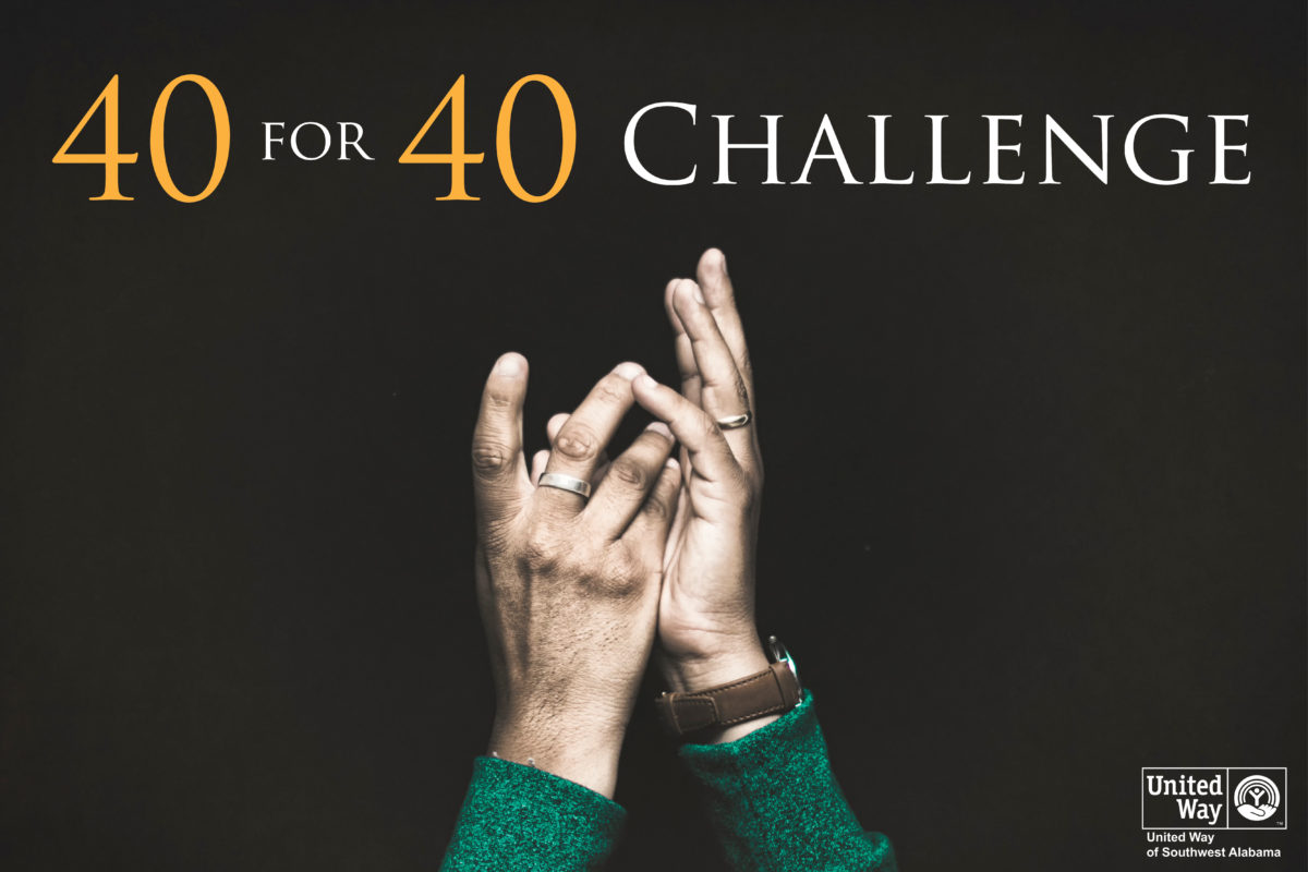 40 for 40 Challenge