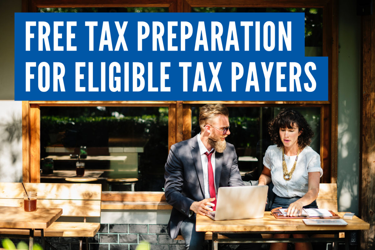 Free Tax Preparation for Eligible Tax Payers