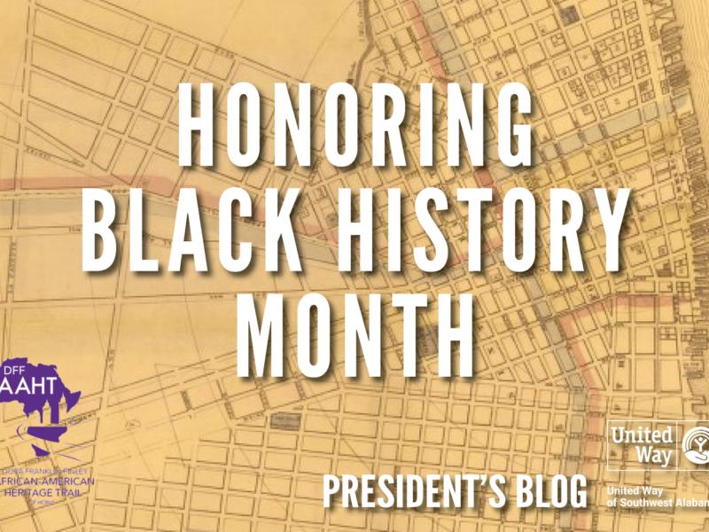 President Blog - Honoring Black History Month