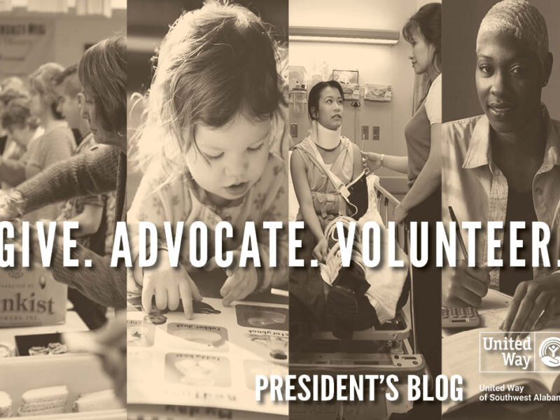 Give. Advocate. Volunteer.