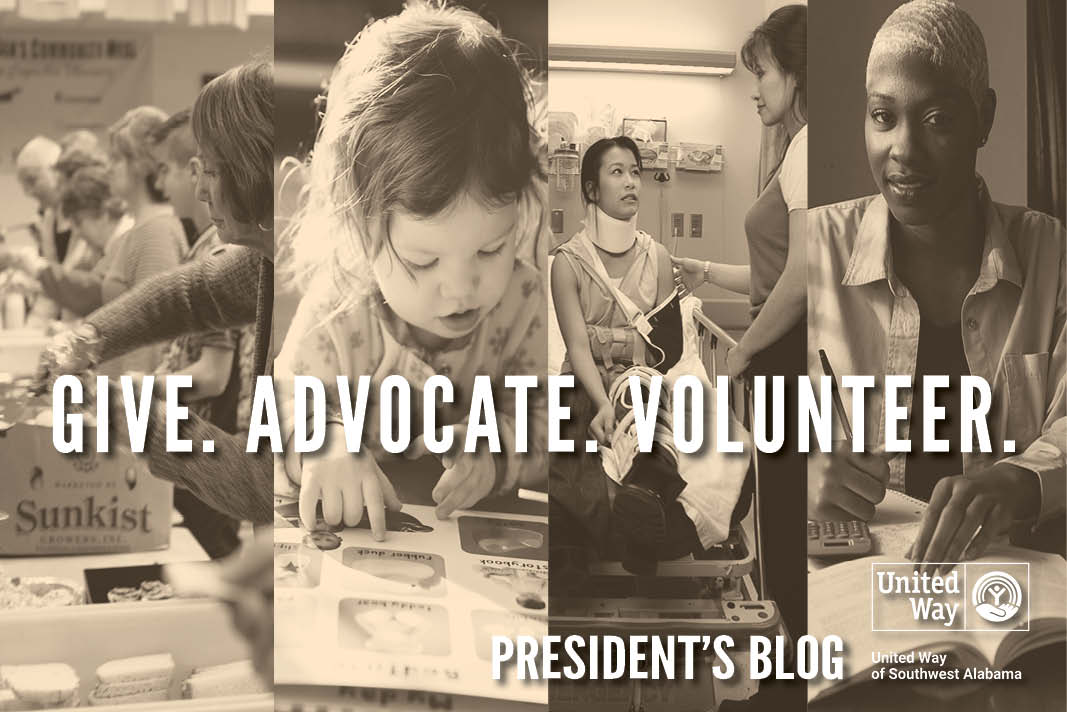 Give. Advocate. Volunteer.