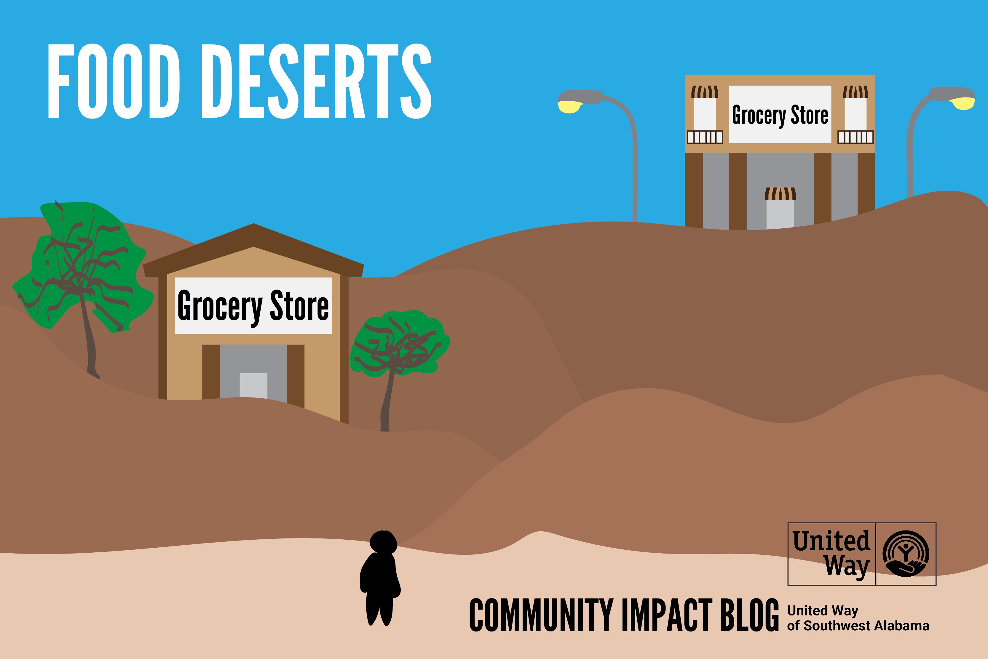 Community Impact July Blog - Food Deserts
