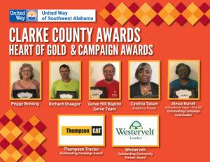 Clarke County Awards