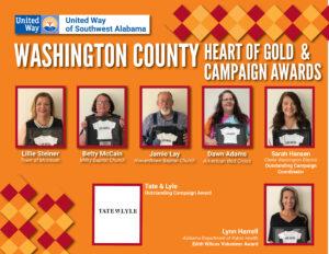 Washington County Awards