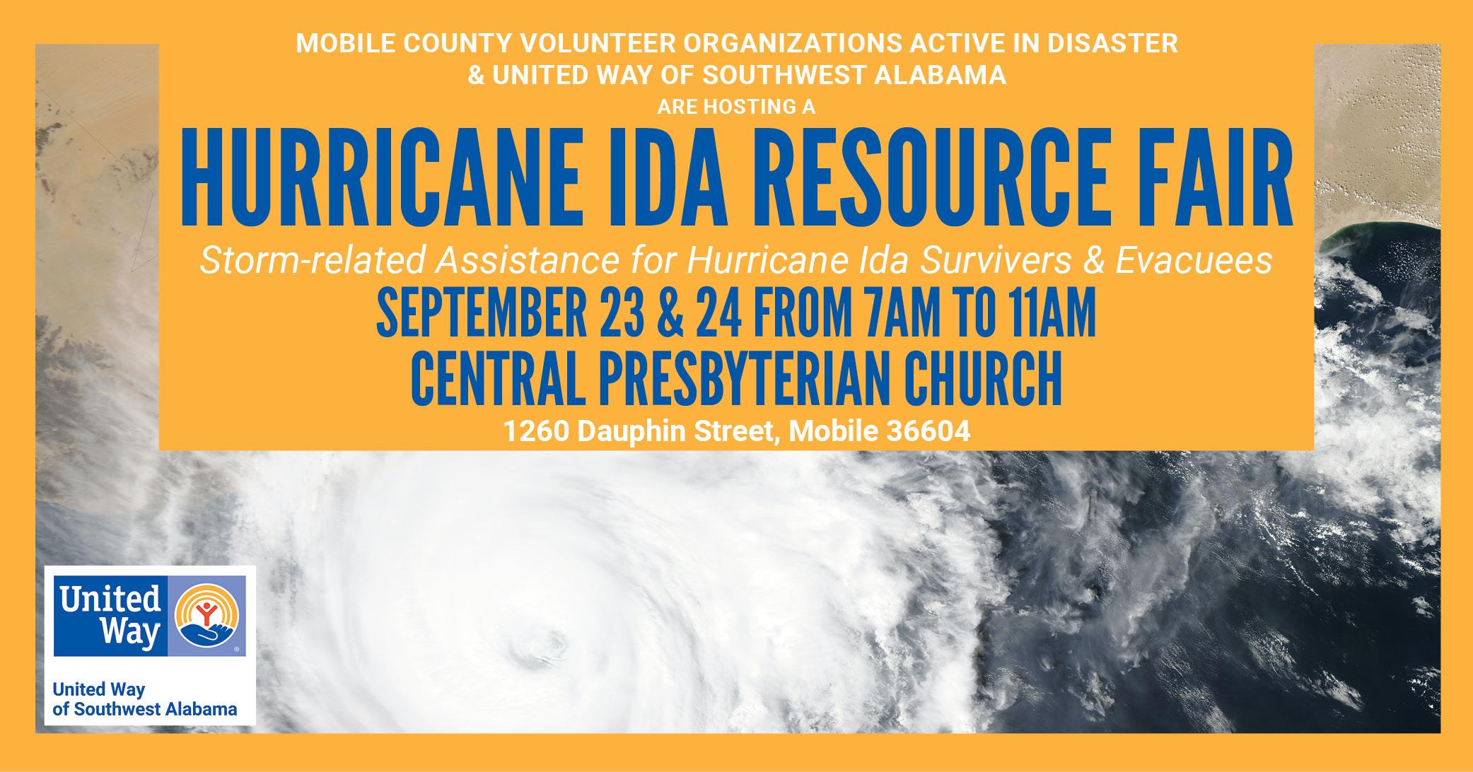 Hurricane Ida Resource Fair