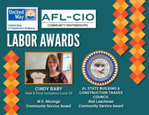 2021 Labor Award Winners