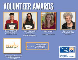 2021 Volunteer Award Winners